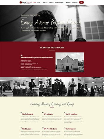Ewing Avenue Baptist Church - Check out the site