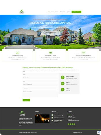 Expert Outdoor Services - Check out the site