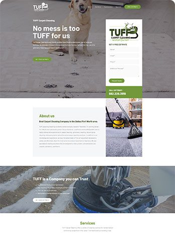 Tuff Carpet Cleaning - Check out the site