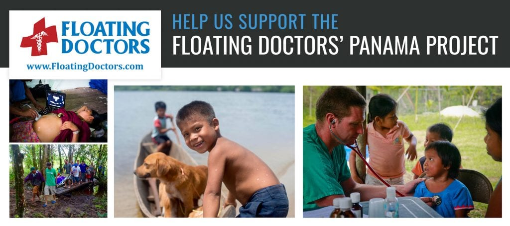 Help us support Floating Doctors' Panama Project